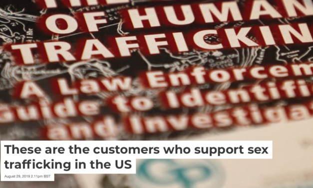 These are the customers who support sex trafficking in the US