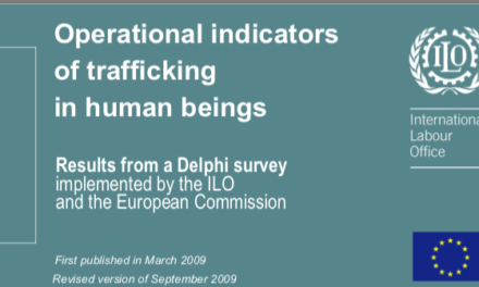 ILO – Operational indicators of trafficking in human beings