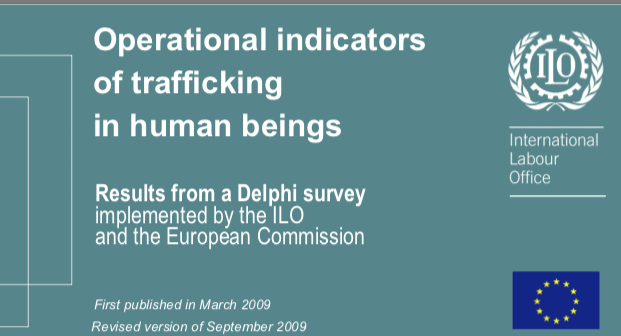 ILO — Operational indicators of trafficking in human beings