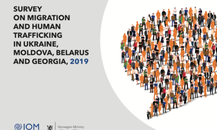 IOM –  SURVEY ON MIGRATION AND HUMAN TRAFFICKING IN UKRAINE, MOLDOVA, BELARUS AND GEORGIA, 2019