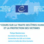COURS SUR LA TRAITE DES ÊTRES HUMAINS HELP ET LA PROTECTION DES VICTIMES