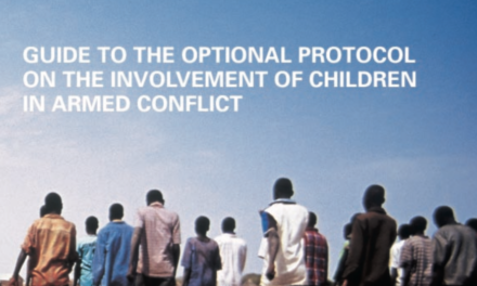 UNICEF — GUIDE FOR CHILDREN IN ARMED CONFLICT