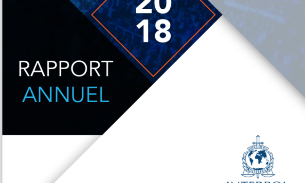 INTERPOL — RAPPORT ANNUEL 2018