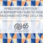 AMELIORER LE RETOUR ET LA REINSERTION SURS ET DIGNES DES PERSONNES VICTIMES DE LA TRAITE