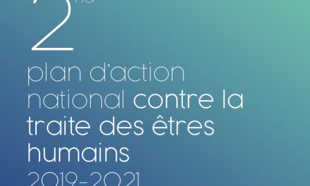 France – 2ème plan d'action national contre la traite des êtres humains 2019-2021