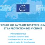 HELP cours sur la traite des êtres humains et la protection des victimes