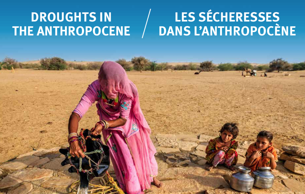 DROUGHTS IN THE ANTHROPOCENE