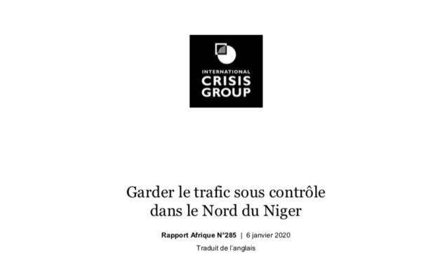 Garder le trafic sous contrôle dans le Nord du Niger