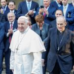 Pope urges global finance leaders to reduce economic inequality