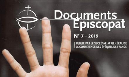 FRANCE / DOCUMENTS EPISCOPAT No.7 2019 – EXPLOITATION ET TRAITE DES ÊTRES HUMAINS / COMPRENDRE POUR AGIR