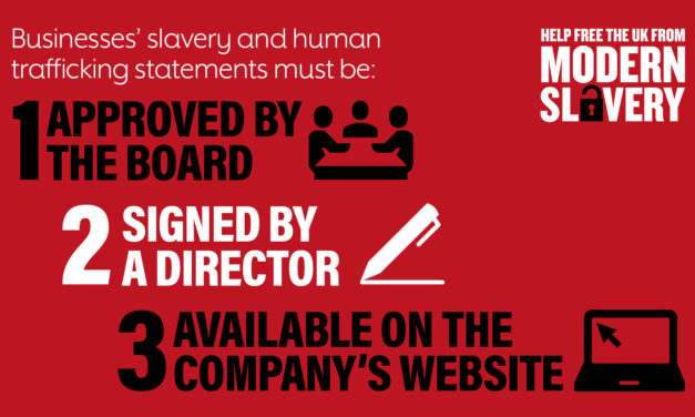 UK GOVERNMENT 2017 – MODERN SLAVERY RESSOURCES AND STATEMENTS FOR INDUSTRY