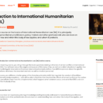 ICRC – Introduction to International Humanitarian Law (IHL) ONLINE COURSE