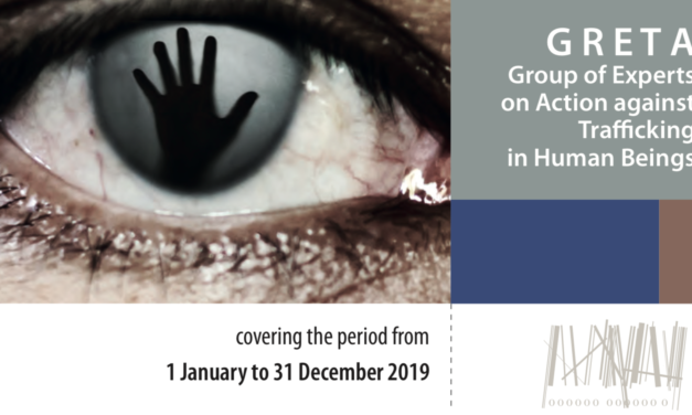 GRETA Group of Experts on Action against Trafficking in Human Beings – ANUAL REPORT 2019