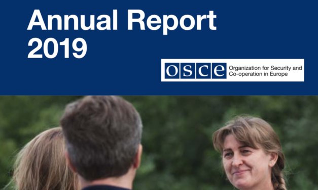 OSCE Annual Report 2019 – Organization for Security and Co-operation in Europe