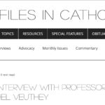 An Interview with Professor Michel Veuthey – by Gordon Nary