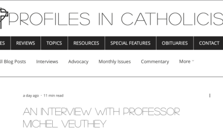 An Interview with Professor Michel Veuthey — by Gordon Nary
