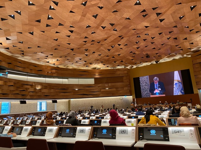 """Statement by Professor Michel VEUTHEY, Geneva, Palais des Nations, 18 February 2020 —  Conference """"Initiatives for Protecting the Youth from Extremist and Violent Ideologies: Implementation Measures"""" Under the Patronage of The Muslim World League in Geneva"""