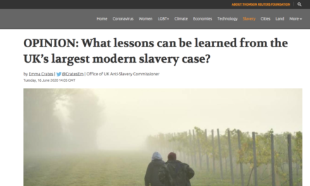 OPINION: What lessons can be learned from the UK's largest modern slavery case?