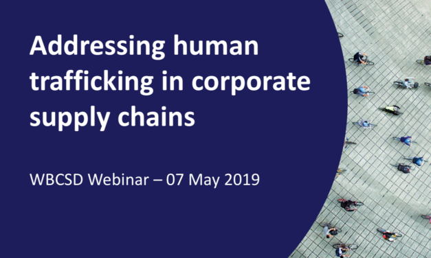 Addressing Human Trafficking in Corporate Supply Chains — By Christina Bain, Director, Initiative on Human Trafficking and Modern Slavery, Babson College
