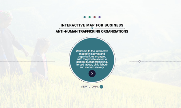 Map is a resource for companies to navigate emerging partners and resources; for all anti-trafficking organisations; and the general public to improve coordination on the eradication of modern slavery