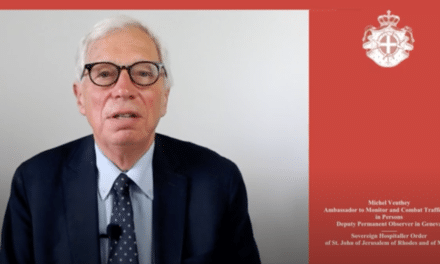 OSCE20th Alliance Against Trafficking in PersonsEnding Impunity Delivering Justice Through Prosecuting Trafficking in Human Beings Vienna, 21 July 2020  / Statement by Professor Michel Veuthey — Ambassador of the Order of Malta to Monitor and Combat Human Trafficking