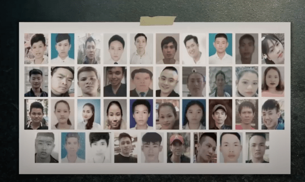 In October 2019, 39 Vietnamese migrants were found dead in a lorry container in Essex: Scrambling onto trucks for a better life !