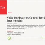 PODCAST — Nadia Meriboute sur le droit face à la traite des êtres humains