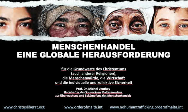 HUMAN TRAFFICKING A GLOBAL CHALLENGE — Presentation to the Austrian Bishops on 8 March 2021
