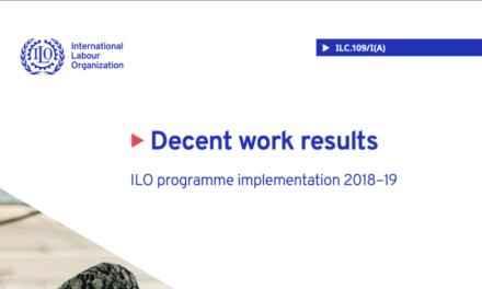 Decent work results — ILO programme implementation 2018–19