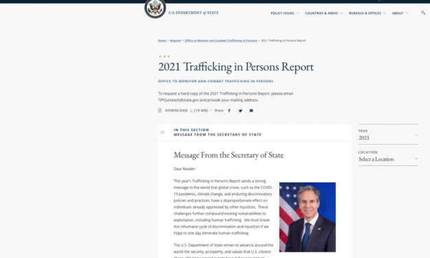 U.S. Department of State — 2021 Trafficking in Persons Report