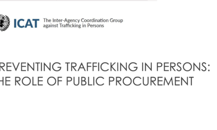 UN ICAT- High-Level Event on HumanTrafficking and Procurement / 27 September 2021 — Preventing Trafficking in Persons by Addressing Demand