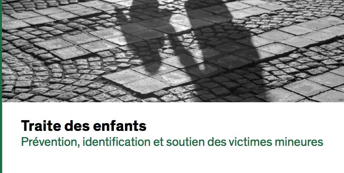 Traite des enfants — Prévention, identification et soutien des victimes mineures