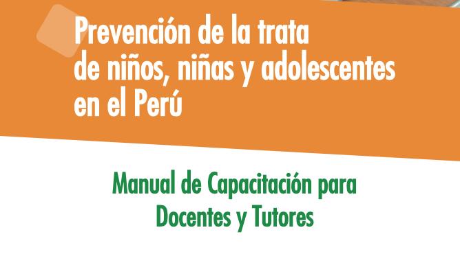Prevención de la trata de niños, niñas y adolescentes en elPerú