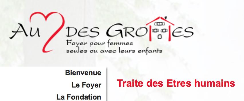 Fondation Au coeur des Grottes — Genève — Suisse — Un suivi à 100% des femmes en situation d'esclavage