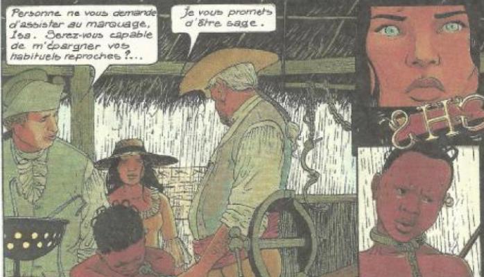 """La traite négrière à partir d'une BD : """"Les passagers du vent — François Bourgeon"""""""
