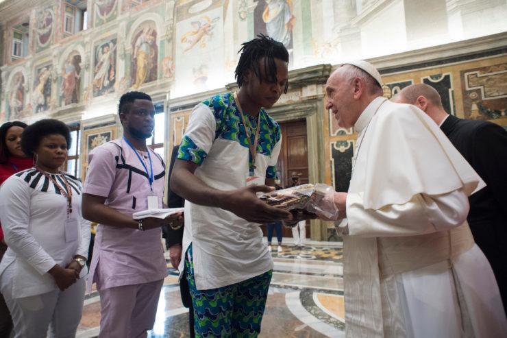 12th Feb. 2018 : Human Trafficking — Survivors Meet Pope Francis