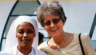 GERMANY — SOLWODI — Sister Lea Ackermann —  (SOLidarity with WOmen in DIstress / Solidarität mit Frauen in Not) ist ein überkonfessioneller und überparteilicher Verein, der Frauen in Notsituationen hilft. Der Ursprung liegt in Mombasa, Kenia, wo die Initiative 1985 ins Leben gerufen wurde