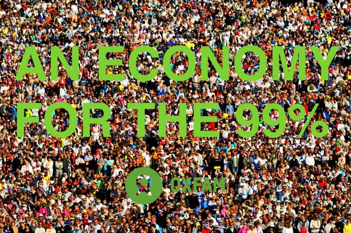 OXFAM — AN ECONOMY FOR THE 99% REPORT