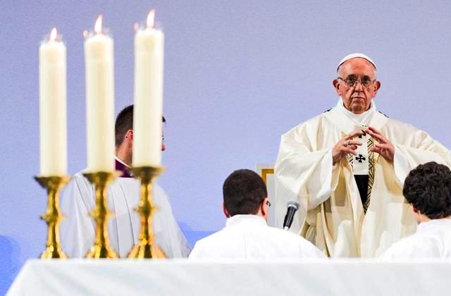 21 June 2018 — Ecumenical Pilgrimage of Pope Francis and the World Council of Churches — Pope Francis' Homely — Texte de l'Homélie du Pape François — Omelia del SantoPadre