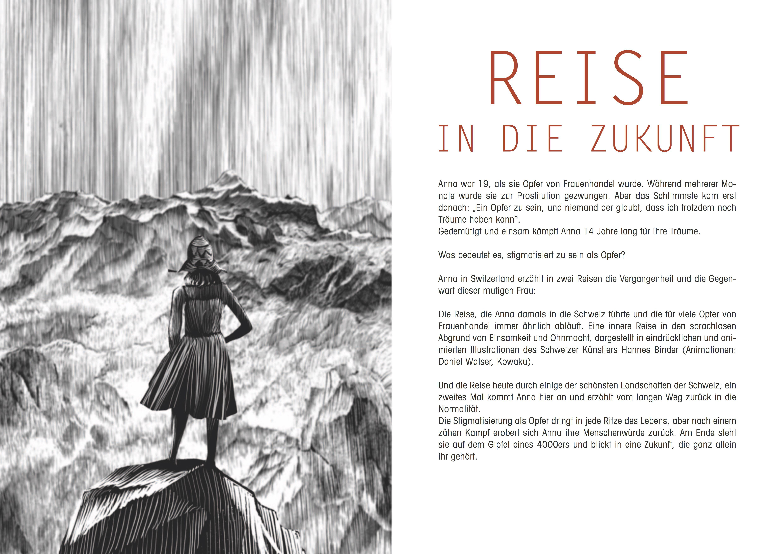 """FILM """"ANNA IN SWITZERLAND"""" — Der lange Weg aus dem Frauenhandel / The long way out of trafficking inwomen"""