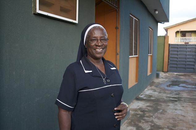 NIGERIA — Sister Patricia Ebegbulem — Bakhita Villa, a shelter she runs for trafficking survivors in Lagos, Nigeria