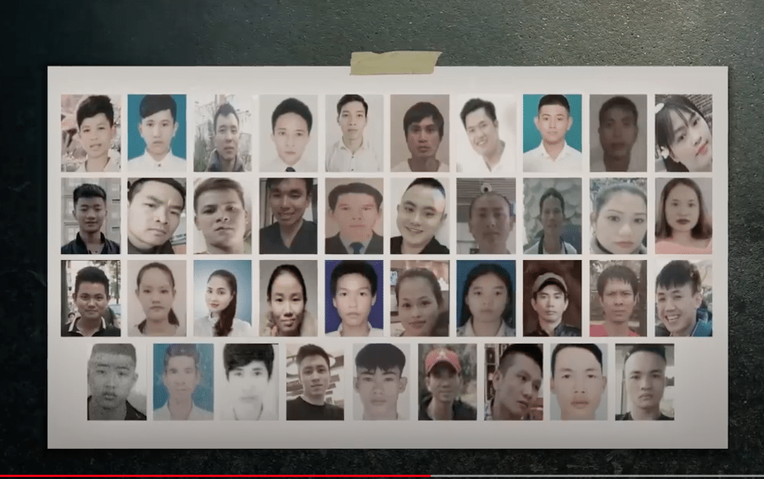 In October 2019, 39 Vietnamese migrants were found dead in a lorry container in Essex: Scrambling onto trucks for a better life!